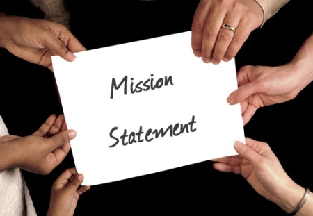 Hands Holding Mission Statement